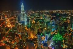 Kuala Lumpur Skyline Malaysia photographie stock
