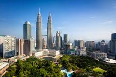 Kuala lumpur. Skyline,  Malaysia stock photo