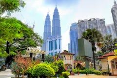 Kuala lumpur skyline, Malaysia Royalty Free Stock Photo