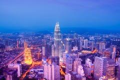 Kuala Lumpur Skyline - Malaysia Royalty Free Stock Image