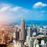 Kuala Lumpur Skyline, Malaysia, Royalty Free Stock Images