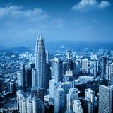 Kuala Lumpur Skyline, Malaysia, Royalty Free Stock Photography