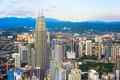 Kuala Lumpur skyline, Malaysia Stock Images