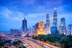 Kuala Lumpur Skyline Stock Photos