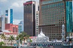 Kuala Lumpur skyline on a sunny day Stock Photography