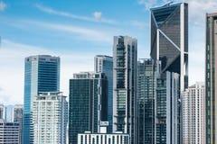 Kuala Lumpur skyline on a sunny day Stock Photo