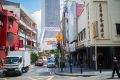 Kuala Lumpur skyline on a sunny day Royalty Free Stock Photo
