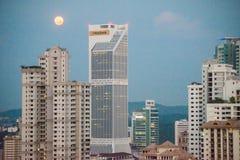 Kuala Lumpur skyline at sunrise Royalty Free Stock Image