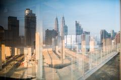 Kuala Lumpur skyline at sunrise Royalty Free Stock Photography