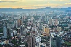 Kuala Lumpur skyline Royalty Free Stock Images