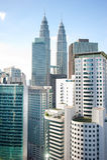 Kuala Lumpur skyscrapers Royalty Free Stock Photography
