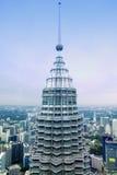Kuala Lumpur  skyscrapers Stock Photo
