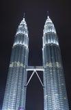 Kuala Lumpur  skyscrapers Stock Photos