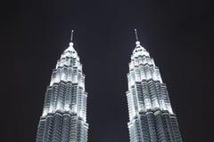 Kuala Lumpur  skyscrapers Stock Photography