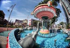 Kuala Lumpur små Indien Arkivfoto