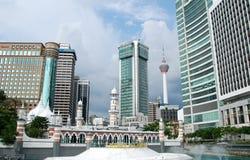 Kuala Lumpur stadspanorama arkivbild