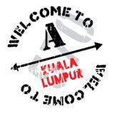 Kuala Lumpur stamp Stock Photos