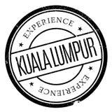 Kuala Lumpur stamp Royalty Free Stock Image