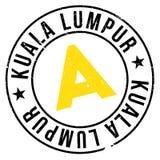 Kuala Lumpur stamp Stock Image