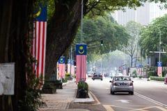 Kuala Lumpur Street view Stock Image