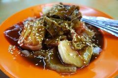 Kuala Lumpur Style Chee Cheong Fun. Malaysia street food royalty free stock photography