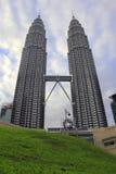 Kuala Lumpur 2017 17th Februari, tvillingbröder av Malaysia Arkivbild