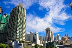 kuala Lumpur 2017, 18th Luty: Kuala Lumpur pejzażu miejskiego daylig zdjęcie royalty free