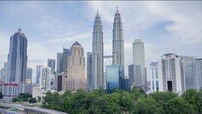 Kuala Lumpur Time Lapse stock footage
