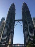Kuala Lumpur torn kopplar samman arkivfoto