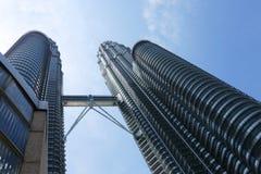 Kuala Lumpur, torres de Petronas Imágenes de archivo libres de regalías
