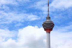 Kuala Lumpur tower Royalty Free Stock Photography