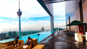 The Kuala Lumpur Tower Royalty Free Stock Photography