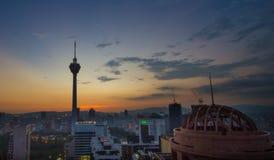 Kuala Lumpur Tower Stock Image