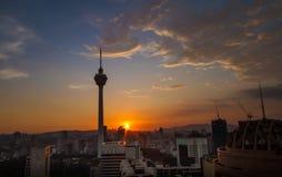 Kuala Lumpur Tower Stock Photos
