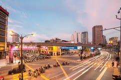 Kuala Lumpur traffic Royalty Free Stock Photography