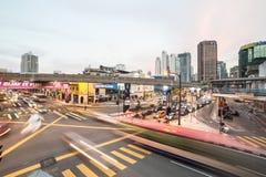 Kuala Lumpur traffic Royalty Free Stock Photos