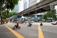 Kuala Lumpur-Transport Stockfotografie