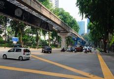 Kuala Lumpur transport Stock Images