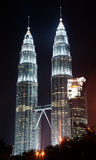 Kuala Lumpur tvillingbröder Royaltyfria Foton