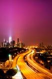 Kuala Lumpur twin towers Royalty Free Stock Photos