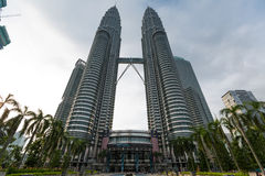 kuala Lumpur twin towers Zdjęcie Royalty Free