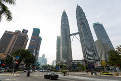 kuala Lumpur twin towers Fotografia Stock