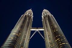 Kuala Lumpur twin towers Royalty Free Stock Image