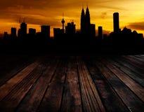 Kuala Lumpur view Royalty Free Stock Photography