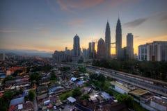 Kuala Lumpur W ranku Obraz Stock