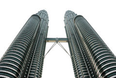 Kuala- Lumpurkontrolltürme Lizenzfreies Stockbild