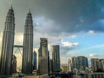 Kuala- Lumpurstadt Stockfotos