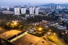 Kuala- Lumpurstadt Stockfotografie