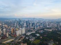 Kuala- LumpurStadtbild Stockfoto