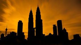 Kuala- LumpurTwin Tower Stockfotografie